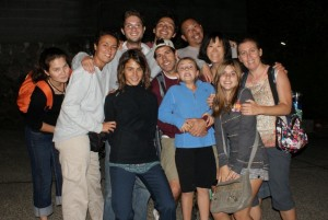 The Couchsurfing Crew at Shoji's Barbque