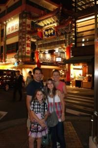 Chinatown Gate in Yokohama - our neighborhood away from home!
