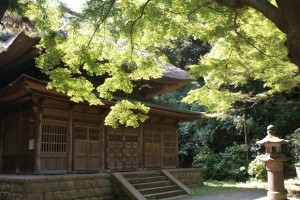 A very old tea house in a park in Yokohama where Yoshie sometimes does formal tea ceremonies.