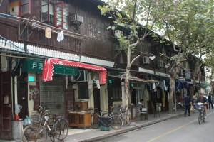 Shanghai row houses slated for demolition