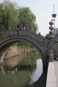 Bridge over one of the ancient canals in Suzhou