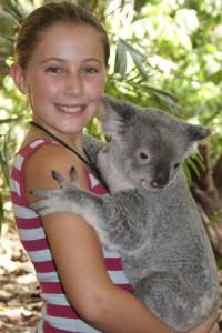 Me and the koala!
