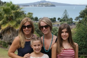 My sister Olivia has joined us for the month in Oz!