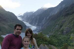 Franz Joseph Glacier from afar
