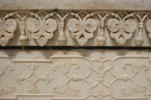 Taj marble detail