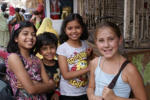 These kids were on my street washing their hands in the public faucet.  I wanted to take their picture, but they wanted their picture taken WITH me and not BY me.  So my mom took it.  They look more like American kids then most of the kids I saw in India.