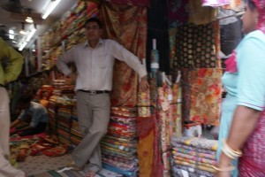 Fabric merchant's shop