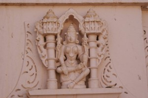 A detail of the carving on the temple outside of Idar.  The carvings on the Temples in India have impressed me greatly!