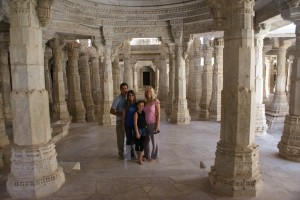 The Jain Temple.  It was AWESOME!  Every single inch of the entire place was intricately carved, and it was massive.  Our tour guide was the head priest and we learned so much about their religion, it was really interesting!