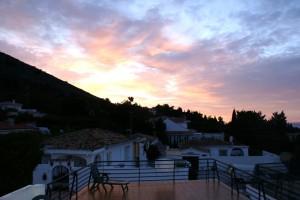 Sunrise in Belamadena