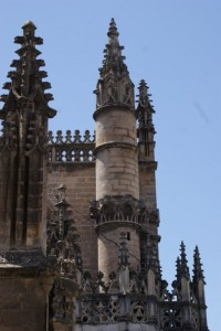Church towers in Sevilla