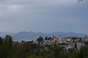 This is what all of the towns and villages look like in Andulusia - so charming I want to find a old farmhouse and grow me some olives!  Seriously, they are really picturesque!